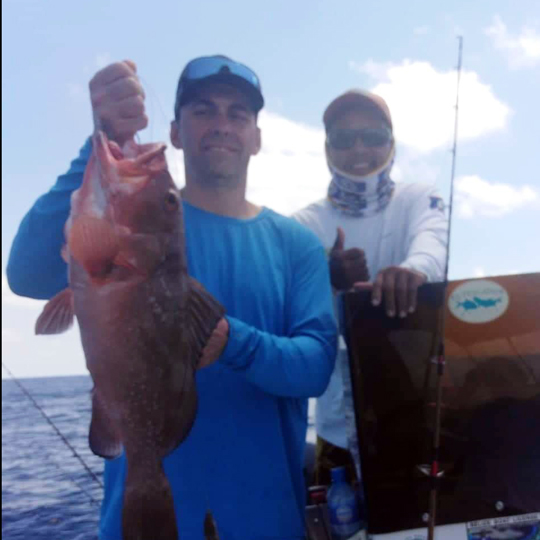 Belize-Guide-Co-fish-catch-display
